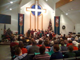 Christmas @ Peace Lutheran in Cold Spring