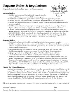 2009 Pageant App Forms2