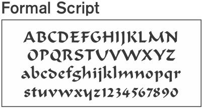 letter styles