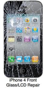 IPhone 4 Front Glass:LCD Repair