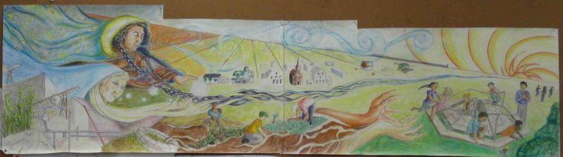 Mural Drawing