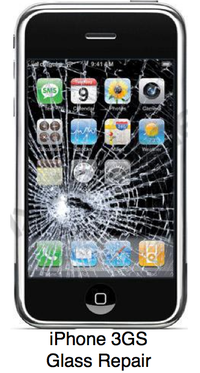 IPhone 3GS Glass Repair