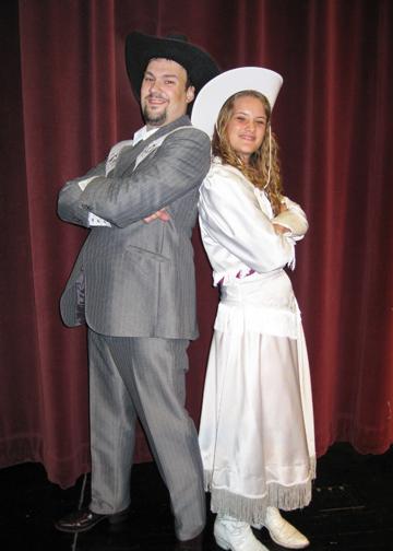 Frank & Annie in costume