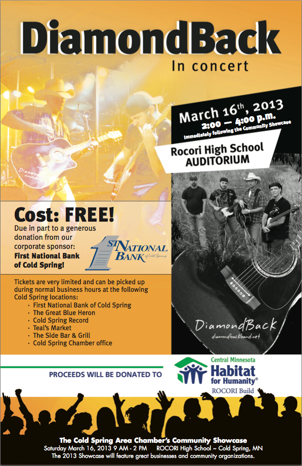 DiamondBack FREE Poster