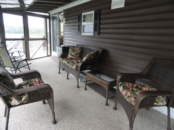 Cozy Corners Campground 2011 Kropf Park Model Porch