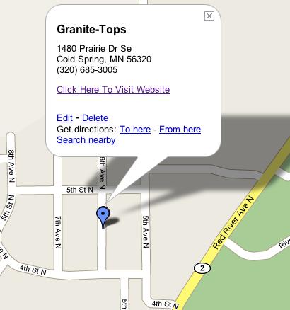 Granitetopsmap