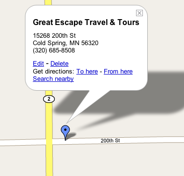 Greatescapetraveltoursmap