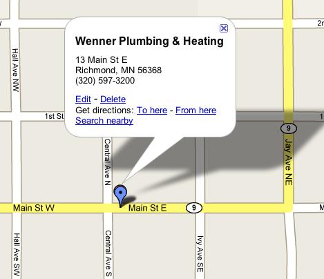 Wennerplumbingheatingmap