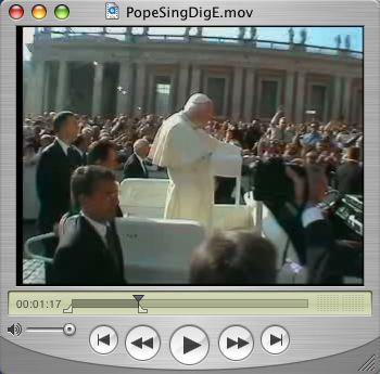 Popesingphoto